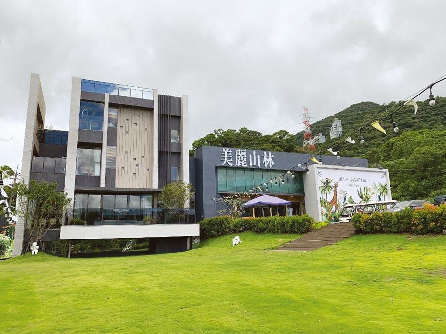 北台灣規模最大的別墅大案「美麗山林」,總銷百億,8月初正式公開迄今已售近五成。圖/蔡惠芳;資料來源:住展雜誌