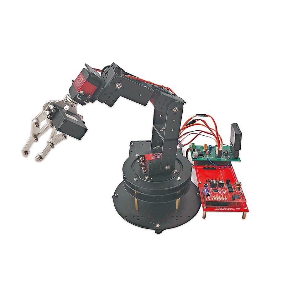 圖為合動智能公司研發的機械臂產品。