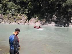 烏來溪水急湍 落水男童搜尋無獲明持續搜索