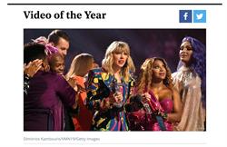 泰勒絲領MTV大獎挺性別平權!疾呼白宮川普回應