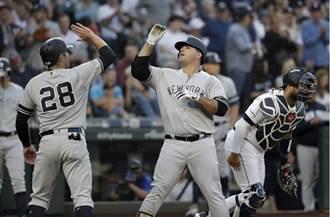 MLB》被水手看扁 洋基菜鳥怒雙轟