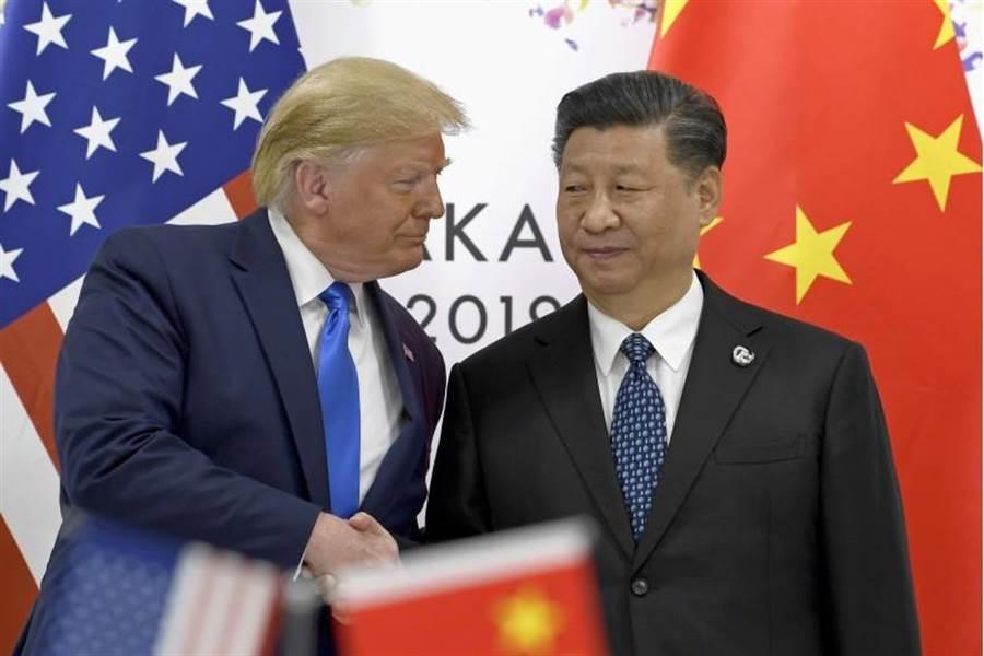 美國總統川普不再稱大陸領導人習近平為好朋友/美聯社