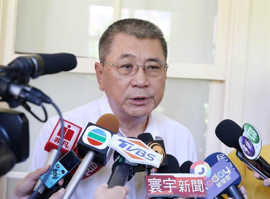 台灣海峽兩岸旅行發展協會理事長姚大光受訪。(姚志平攝)