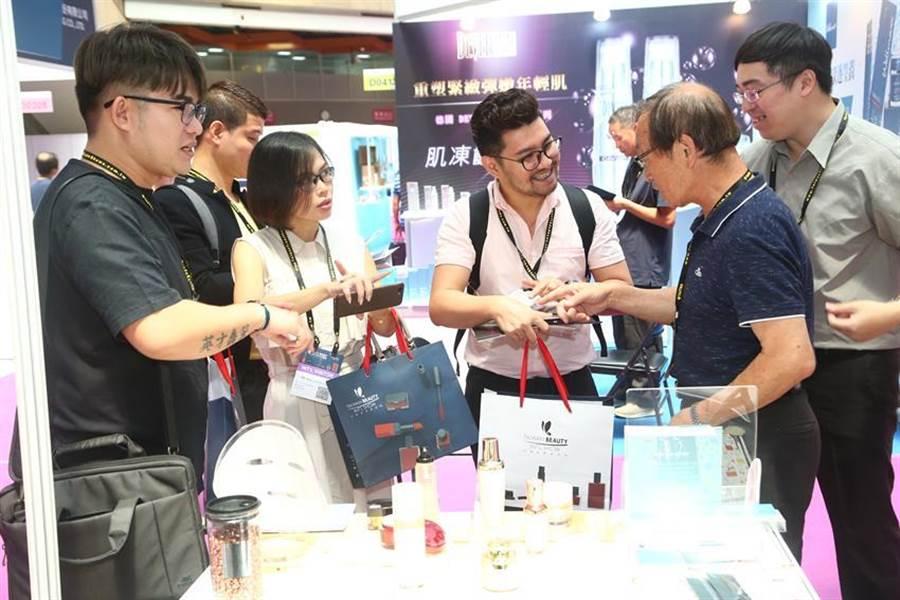 台灣國際美容展TAIWAN BEAUTY準備打國家隊/圖/貿協提供