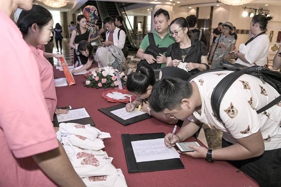 「來廈門‧遊金門」推介會,吸引120旅行商和媒體來到。(縣府提供)