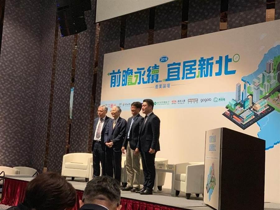 (劉安康(右)今天應邀參與第二場論壇「城市創生,富築新北」,進行與談。圖/蔡惠芳)