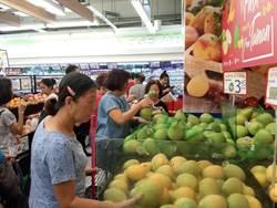 推廣台南鮮果 新加坡百家超市促銷