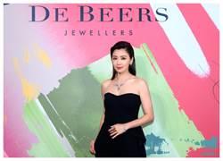 賈靜雯De Beers兩億珠寶上身  入圍金鐘紅毯珠寶有著落