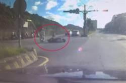 勇警追捕遭衝撞影片曝光 婚前殉職家人傷透心