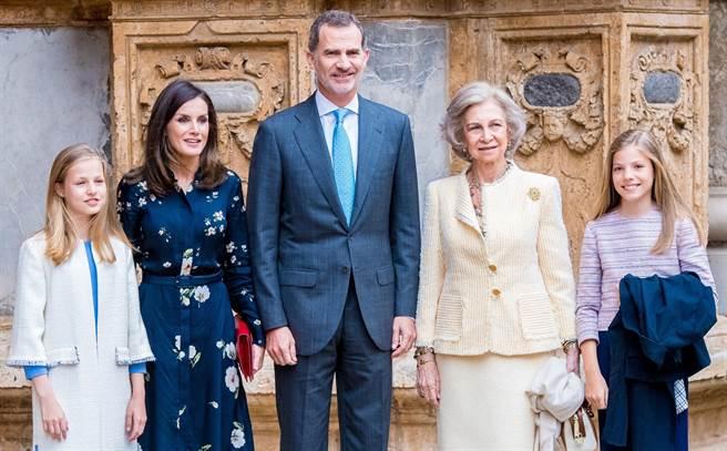 萊蒂西亞王后是西班牙歷史上首位平民王后。(圖/達志影像)
