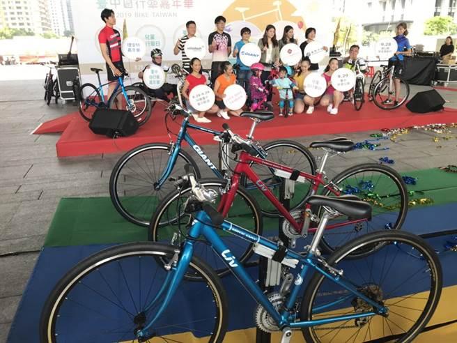「2019台中自行車嘉年華 Bike Taiwan」自即日起至9月29日展開為期1個多月系列活動。(盧金足攝)