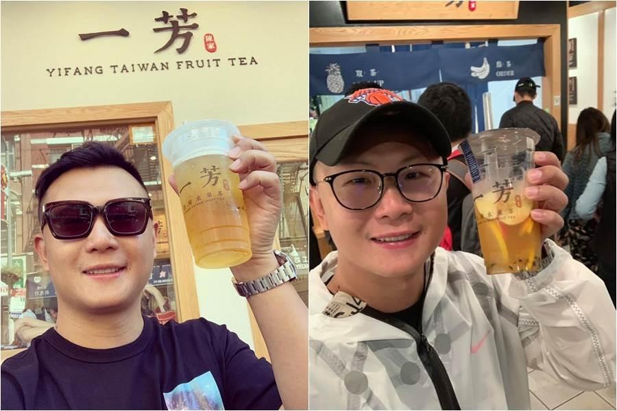 图为一芳水果茶背后总公司「墨力国际」集团的执行长柯梓凯。(图/翻摄自柯梓凯 FB)