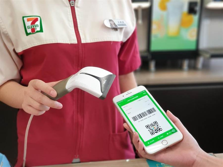LINE Pay一卡通28日起,正式在7-ELEVEN全台5,500據點上線。(圖/一卡通提供)