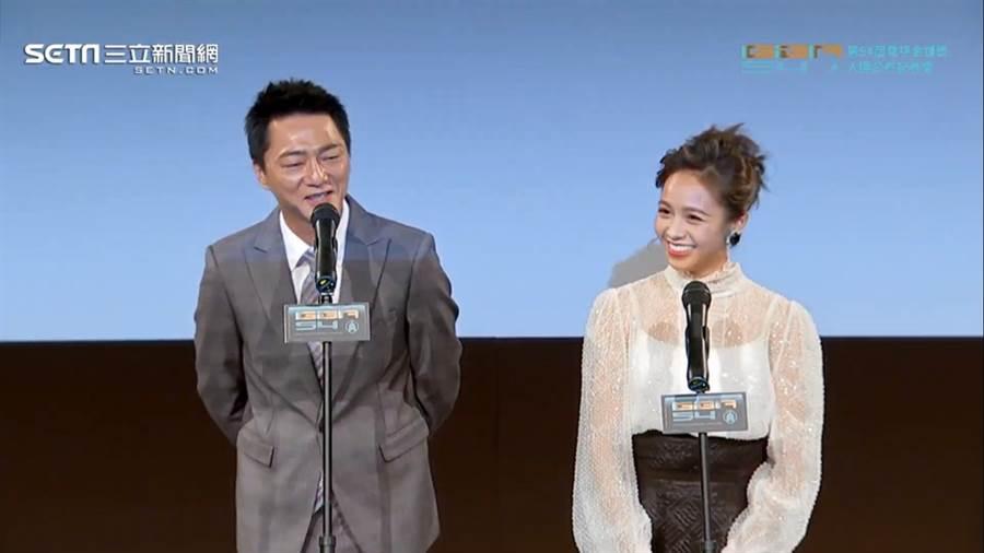 藍葦華、黃姵嘉是今年揭曉入圍獎項嘉賓。(圖/翻攝自 Youtube)