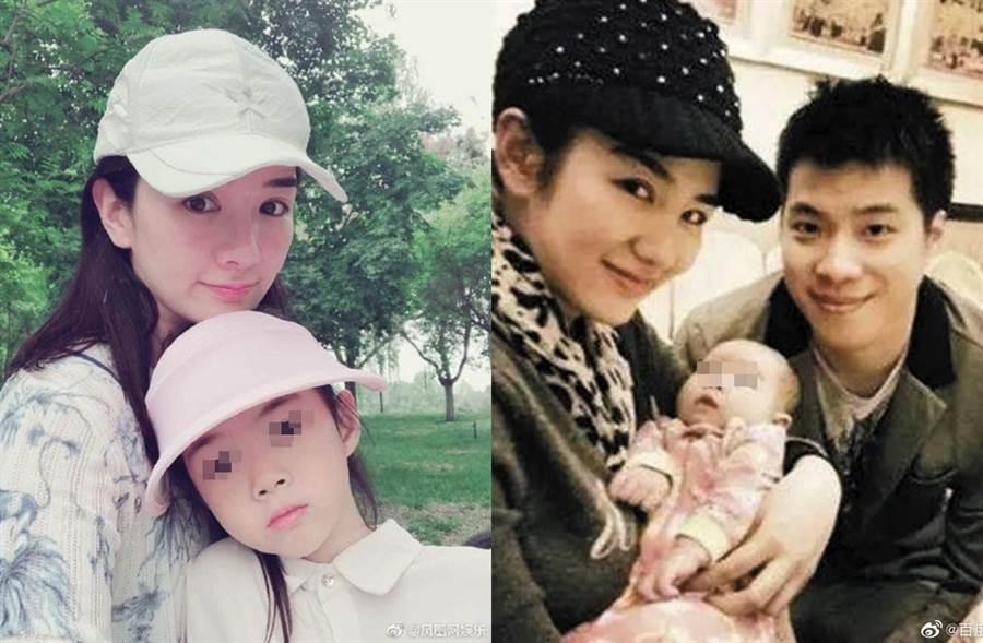 黃奕5年前和黃毅清離婚。(圖/翻攝自鳳凰網娛樂、百度娛樂微博)