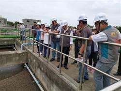 頭份水資源回收中心第2期工程將完工 縣長視察