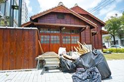 原東勢公學校宿舍 修復9個月驗收還沒過