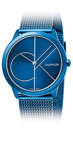 今年代表色 藍色腕表掀流行