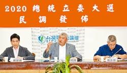 台灣政情 台灣競爭力論壇民調-柯王挺 郭民調支持度反下滑