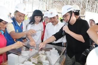 林口公有市場明年3月完工 新增公托、活動中心