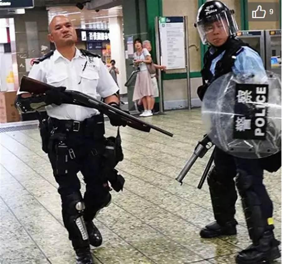 在處理反送中示威成名的光頭港警劉sir。(東網)