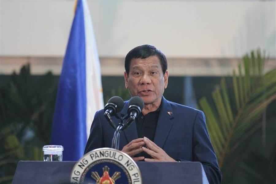 菲律賓總統杜特蒂。(圖/新華社)