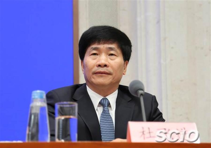 北京市委常委、宣傳部部長杜飛進。(圖/國新辦官網)