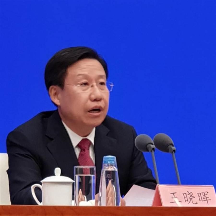 中共中央宣傳部常務副部長王曉暉。(藍孝威攝)