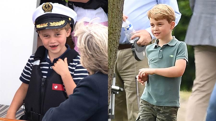 威廉王子透露兒子喬治最近愛上跳舞。(圖/達志影像)