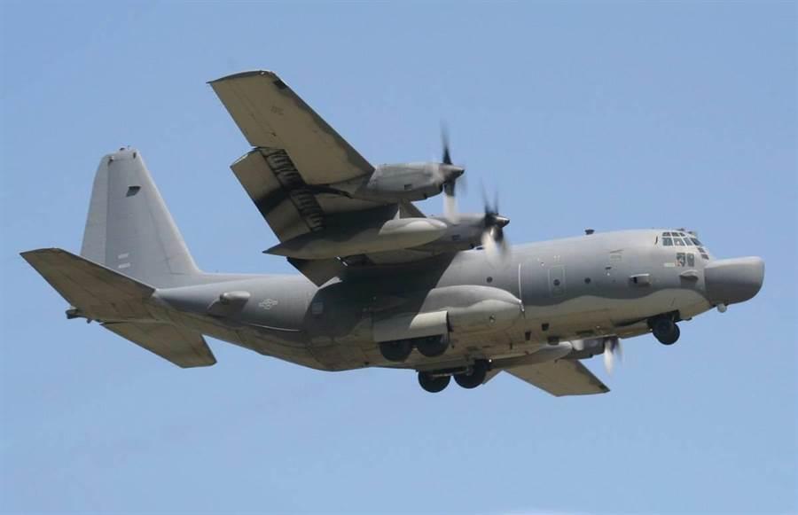美籍MC-130J型運輸機。圖維基百科。