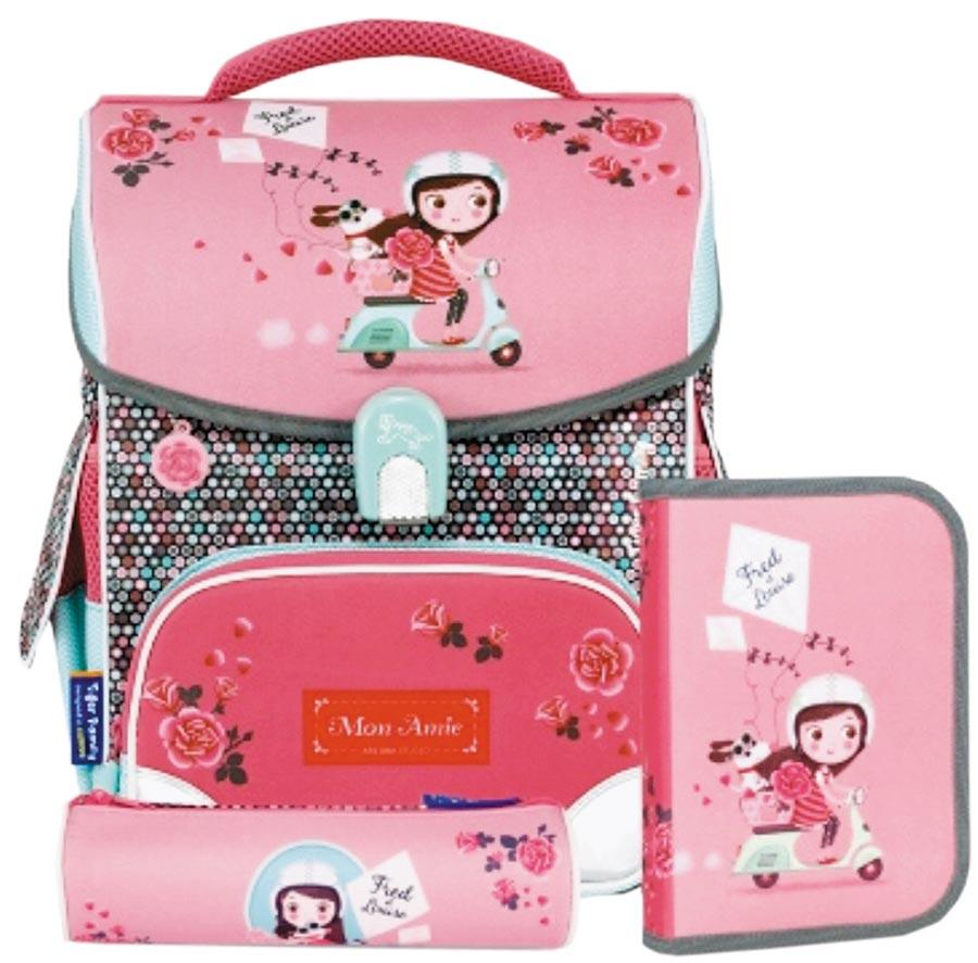 廣三SOGO的Tiger Family兒童護脊書包,2680元。(廣三SOGO提供)