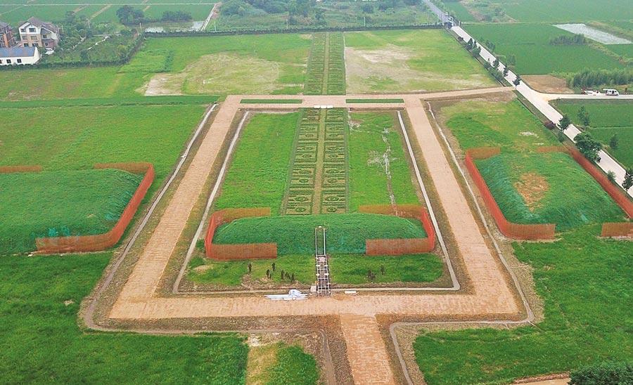 7月6日,「良渚古城遺址」列入《世界遺產名錄》。(中新社)
