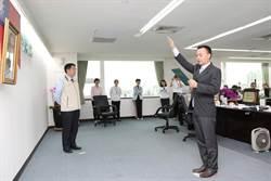 台南市新任交通局長王銘德上任