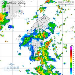 南方雲系持續北移 雨彈轉襲2地區