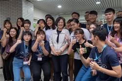 蔡英文:5年50億改善學校宿舍 9月啟動
