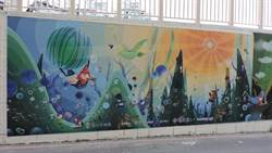 中和打造友善行人空間  華中橋東側變寬、變美了!