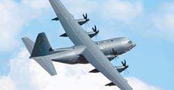 美特戰運輸機 首度飛過台海