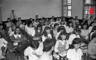 韓國瑜大四上課照曝光 點名先生成焦點