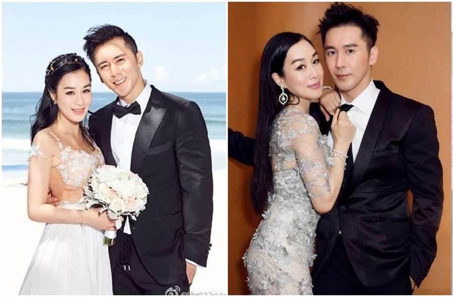 鍾麗緹嫁給張倫碩前,曾有2段失敗婚姻。(圖/鍾麗緹微博)