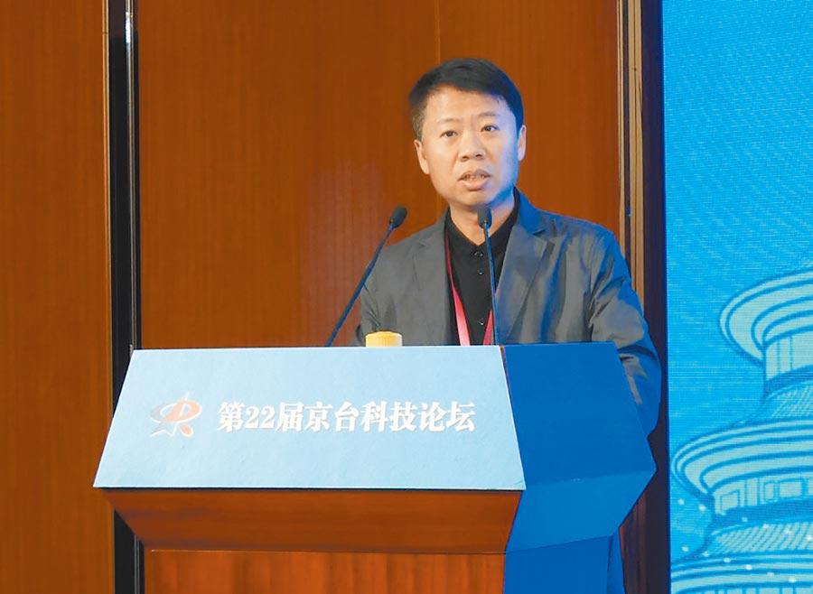 台灣青年聯合會理事長何溢誠指出,台青西進是個走入、投入、融入的過程。(記者陳君碩攝)