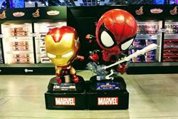 Hot Toys年度展登台北!看Q版蜘蛛人、鋼鐵人耍功夫