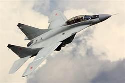 落漆!莫斯科航展秀 米格-35D掉翼板