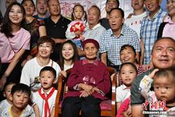 成都最長壽人瑞朱鄭氏 今天過119歲生日