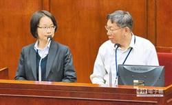 被柯P嗆愛講台灣價值去議會講 吳音寧回4字被噓爆