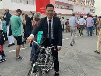 趙德胤騎單車威尼斯趴趴走 黃韻玲音樂獲外媒關注
