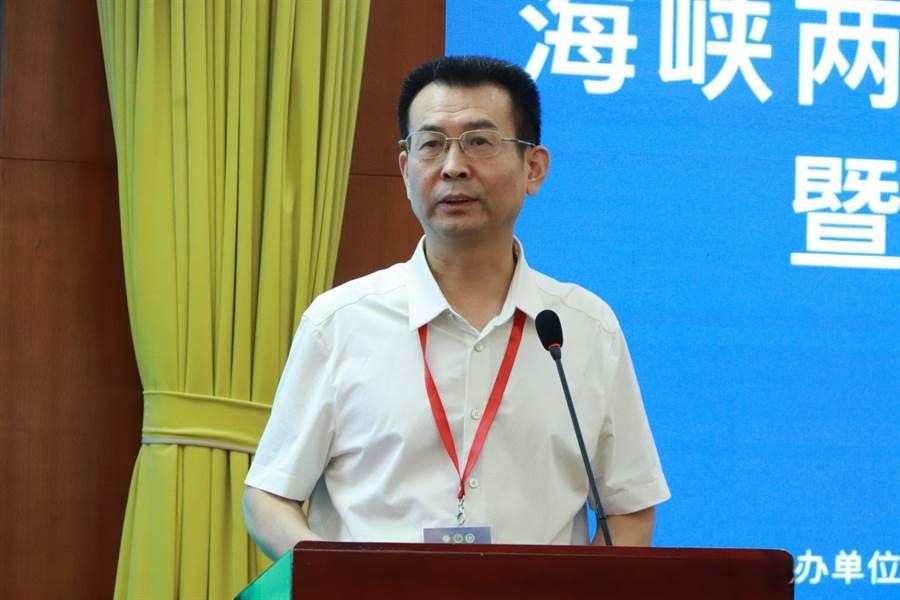 中華中醫藥學會副秘書長孫永章為論壇致辭(圖片來源:大會組委會)