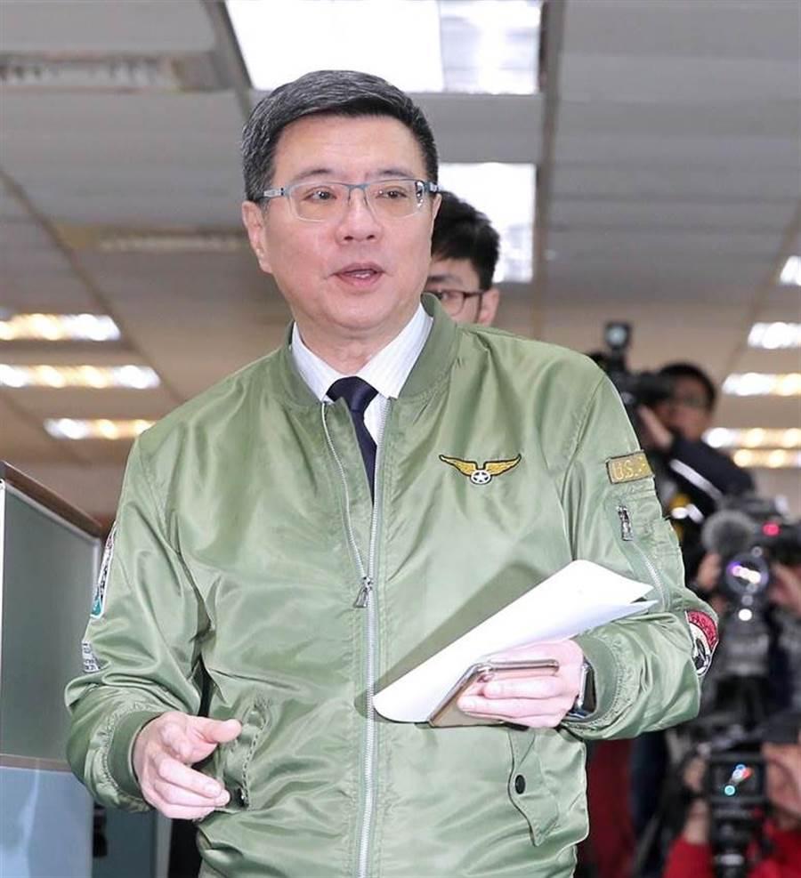 民進黨主席卓榮泰拋出「不排除推新決議文」的想法。(圖/本報資料照,黃世麒攝)