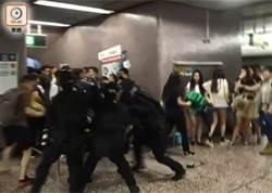 反送中暴力 港鐵遭破壞 多站今早續關閉