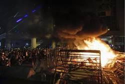 葉毓蘭赴香港 親眼目睹「鬧事的暴民」
