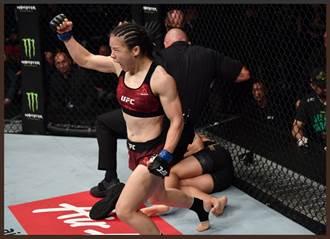 42秒KO!張偉麗勇奪UFC女子冠軍